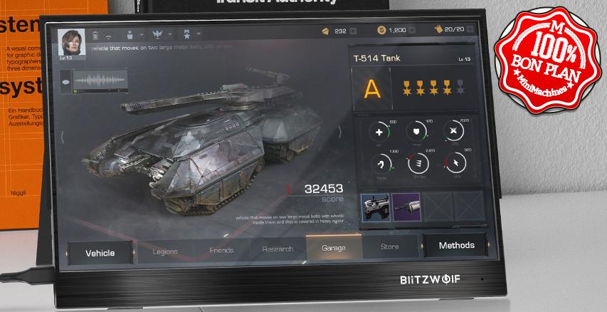 Ecran externe BlitzWolf BW-PCM2 13.3