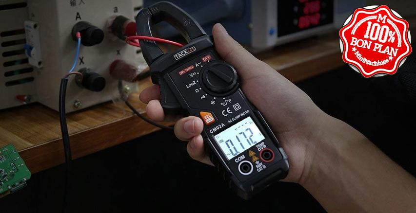 Pince Ampèremétrique Tacklife CM02A