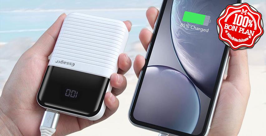 Mini Batterie externe Essager 10000 mAh