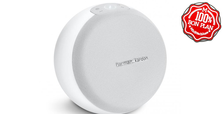 Enceinte sans fil Harman Kardon Omni 10+ Multiroom HD Blanc