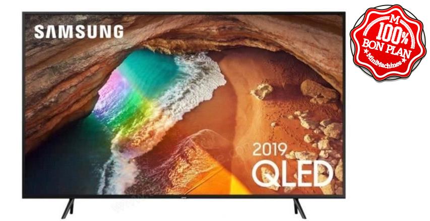 Téleviseur UHD QLED Samsung 55