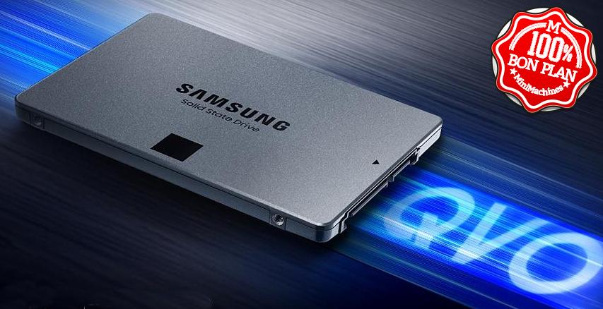 SSD Samsung 870 QVO 1To 2.5