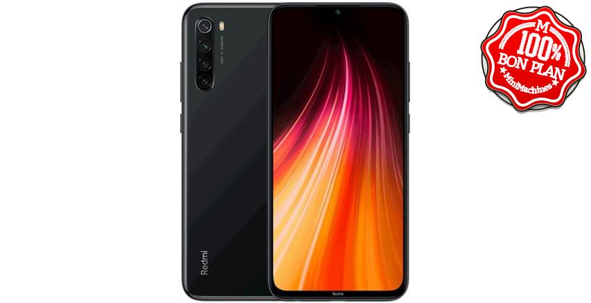 Smartphone Xiaomi Redmi Note 8 3/32 Noir