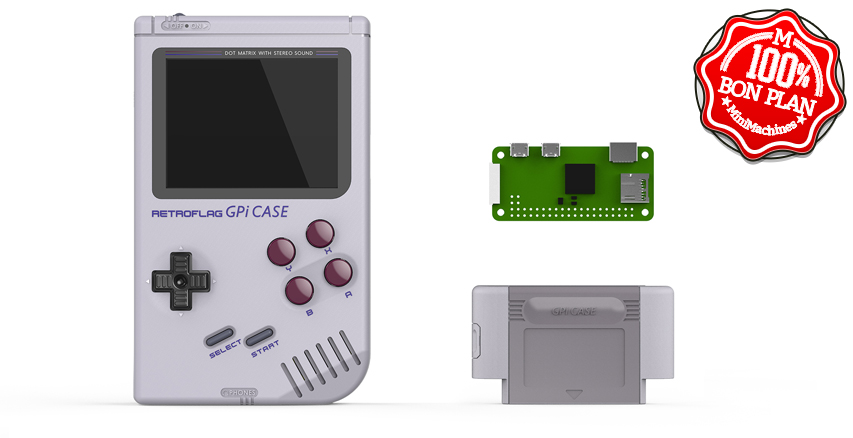 RetroFlag GPI Case pour Raspberry Pi Zero