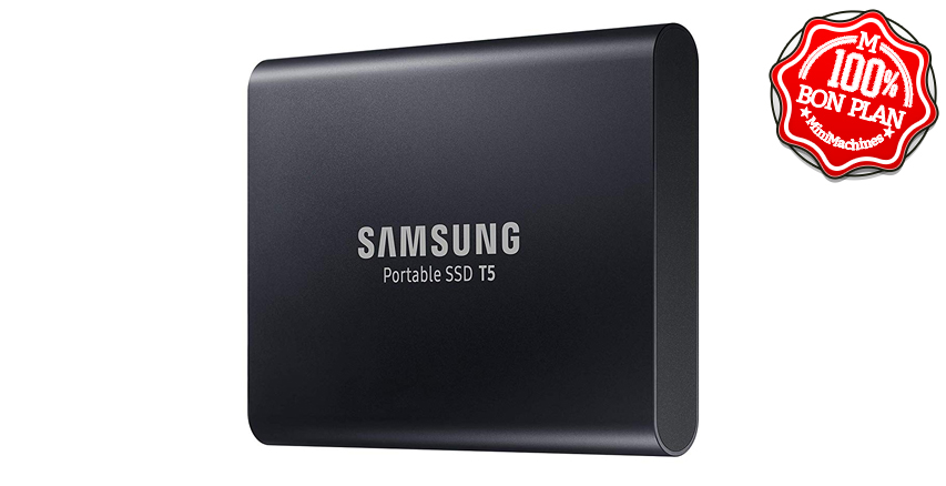 SSD externe Samsung Portable T5 1To