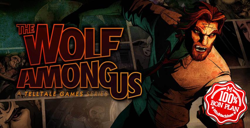 Jeu PC : The Wolf Among Us