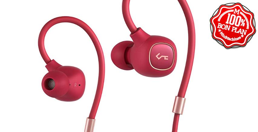 Casque Bluetooth 5.0 Aukey B80 IPX6