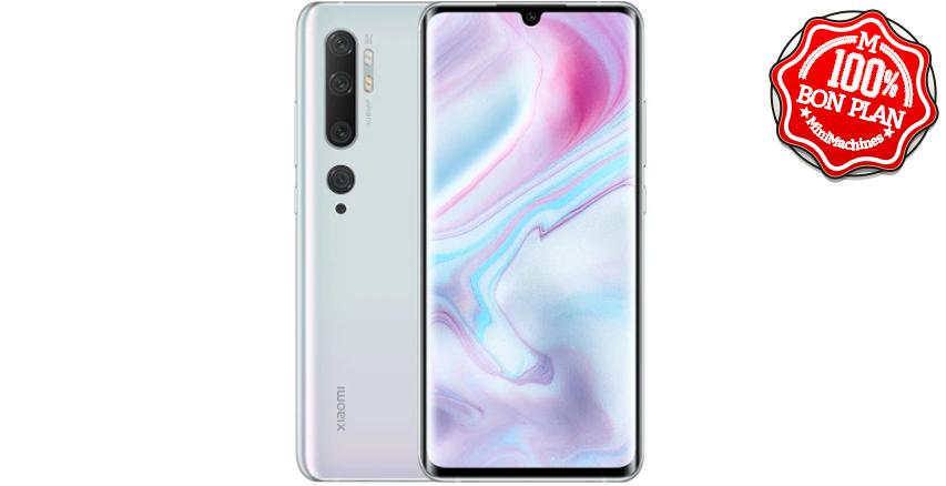 Smartphone Xiaomi Mi Note 10 6/128 Go Blanc