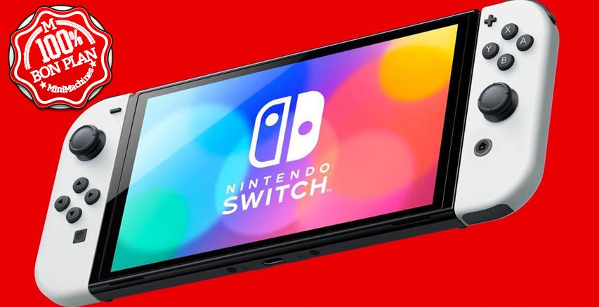 Console de jeu Nintendo Switch OLED