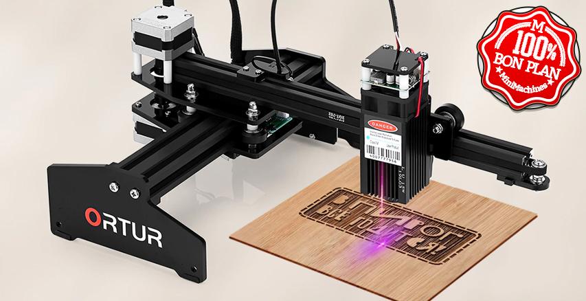 Graveuse Laser Ortur Laser Master /!\ 15 watts /!\