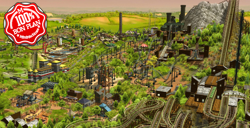 Jeu PC : RollerCoaster Tycoon 3 Complete Edition