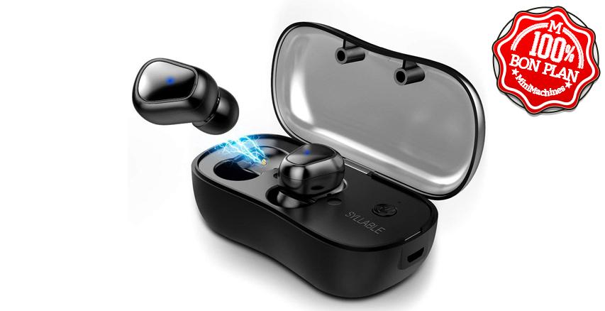 Ecouteurs Bluetooth 5.0 Syllabe D900P