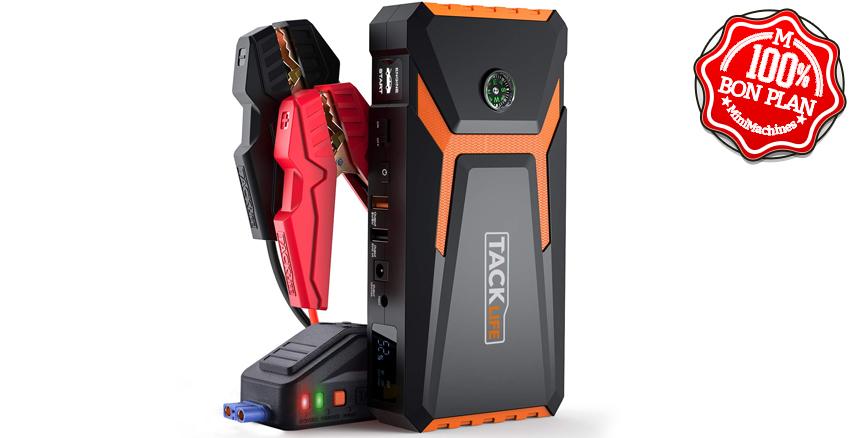 Booster batterie de voiture Tacklife T8 800A/18000mAh