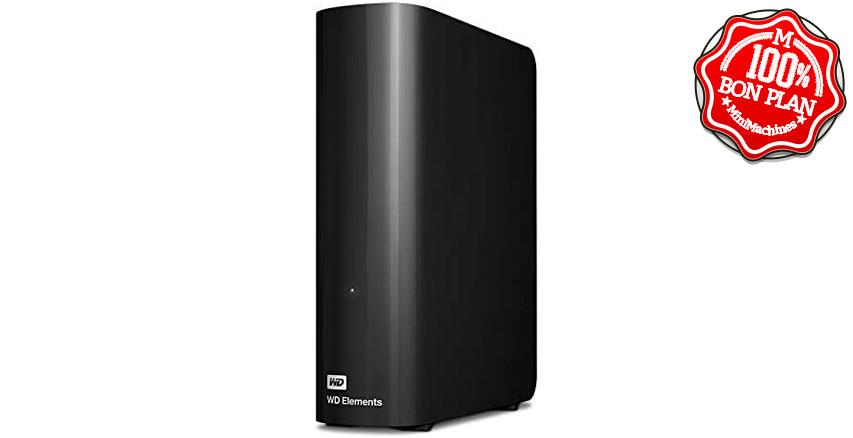 Disque dur externe Western Digital Elements Desktop 10 To USB 3.0