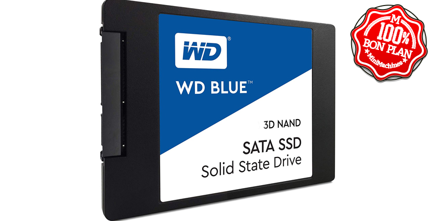 SSD Western Digital Blue SATA 500 Go
