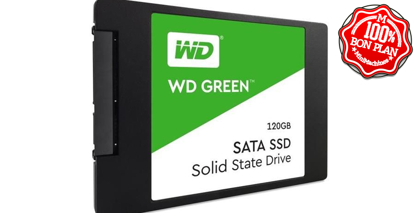 SSD Western Digital Green 480 Go SATA 3.0