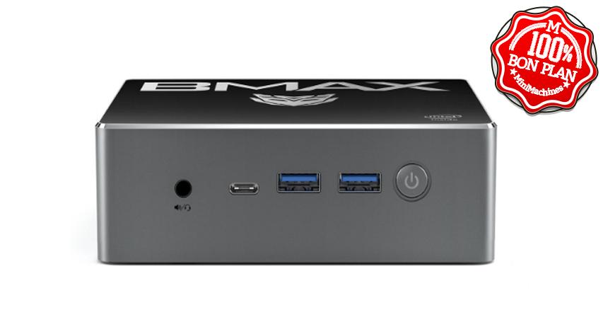 MiniPC BMax B3 Plus 5405U 8/256Go + 2.5
