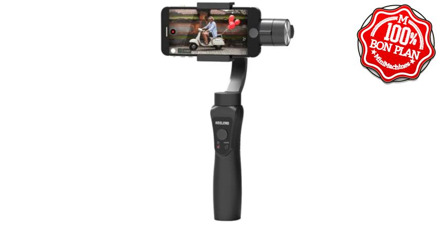 Poignée de stabilisation pour smartphone Keelead S5