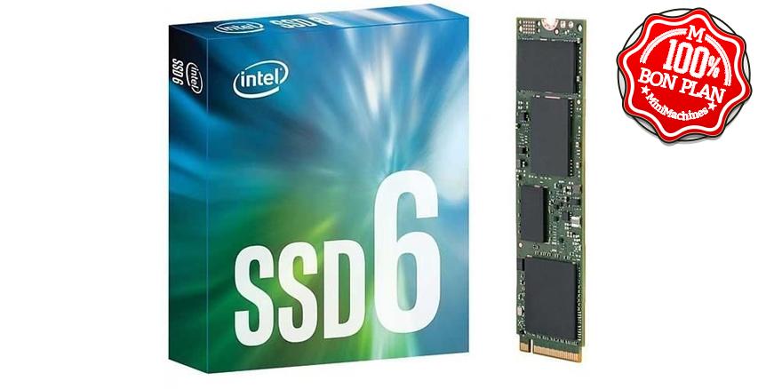 SSD M.2 2280 Intel SSD 660P Series 512 PCIe NVMe