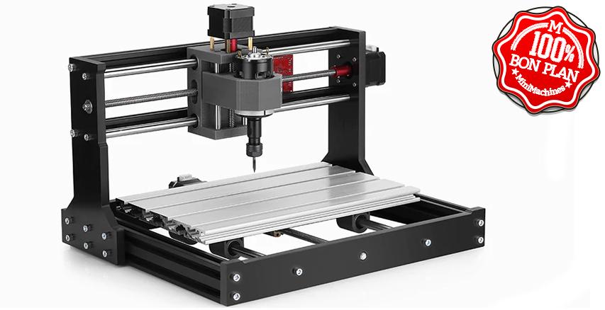Graveuse CNC + Laser 2500 mw Alfawise C10 Pro