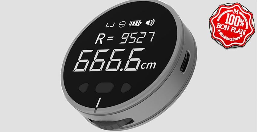 Mètre Duka Small Q8 avec écran LCD