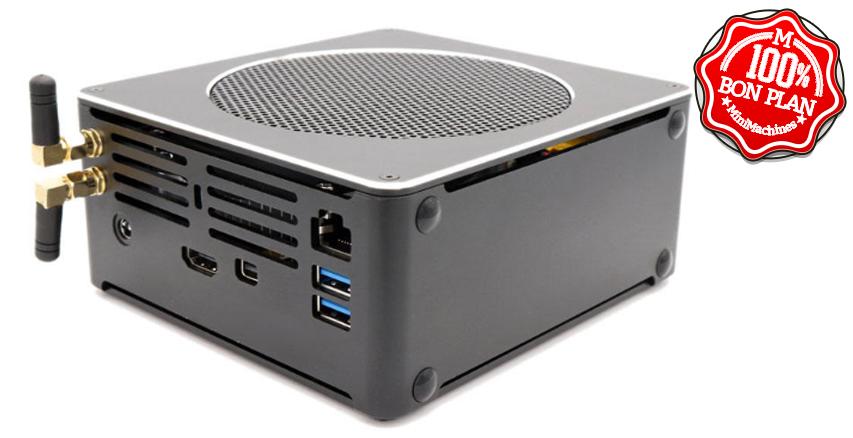 MiniPC Hystou S200 i7-8750H - 16/256 Go + 2.5