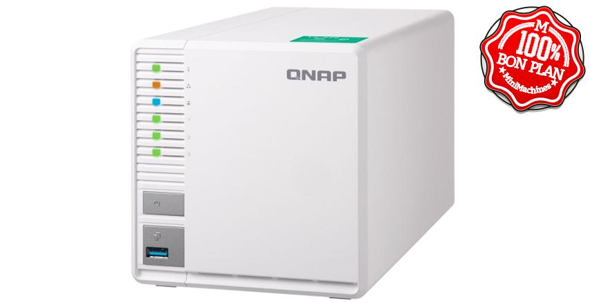 NAS QNAP TS-328-2G 3 baies