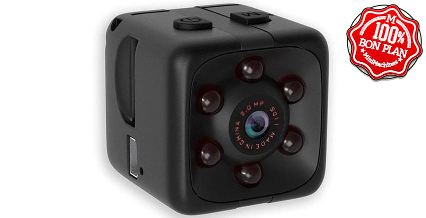 Caméra SQ11 Black avec vision infrarouge