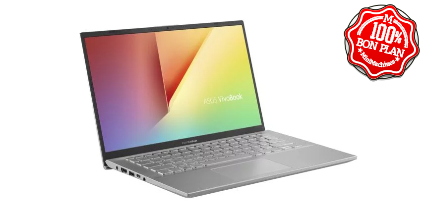 Portable Asus Vivobook S14 - Ryzen 5 3500U - 8/256Go Win10