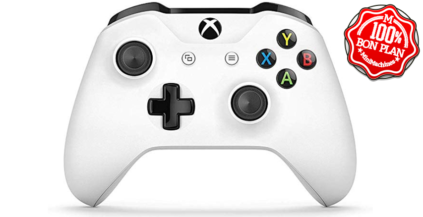 Manette Microsoft Xbox One blanche