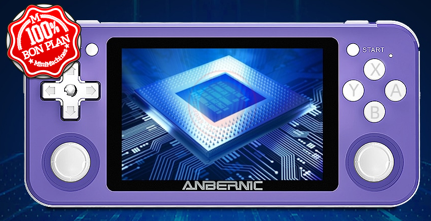 Console Retrogaming Anbernic RG351P