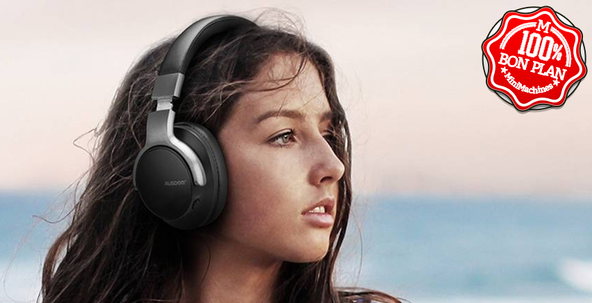 Casque audio Bluetooth AUSDOM ANC8
