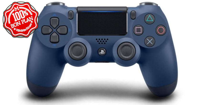 ⬛Manette de jeu PS4 DualShock 4.0 V2 Midnight Blue