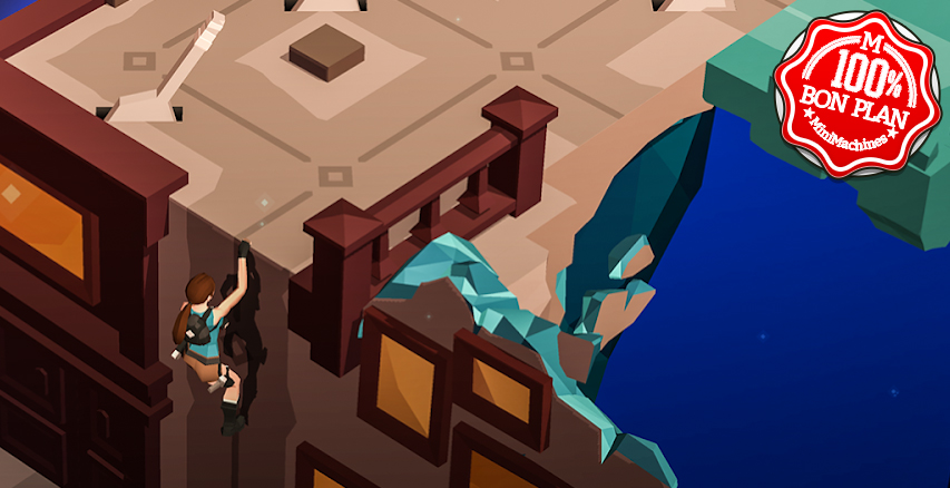 Jeu Android : Lara Croft Go