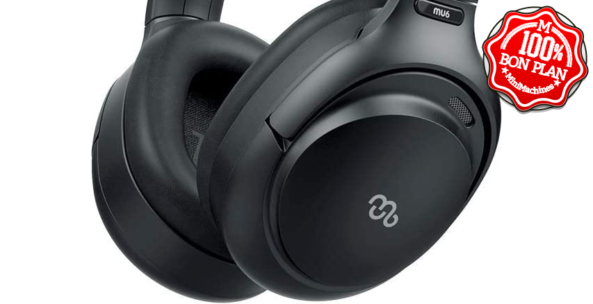 Casque sans Fil Bluetooth Mu6 Space2 avec annulation de bruit