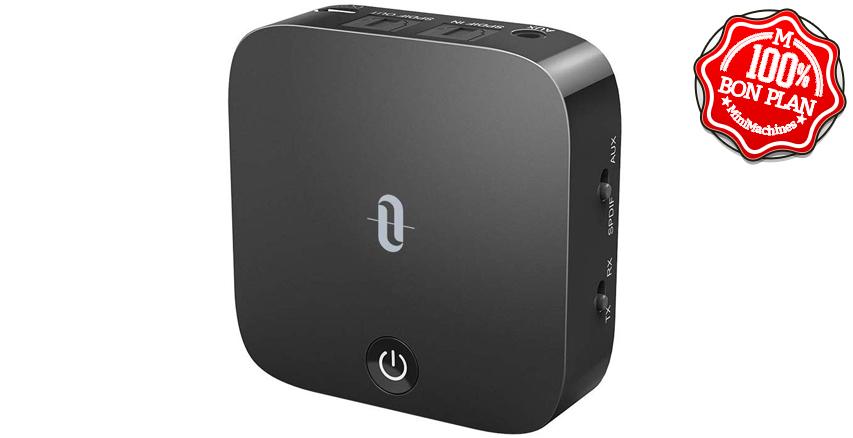 Émetteur / récepteur Bluetooth 5.0 TaoTronics AptX