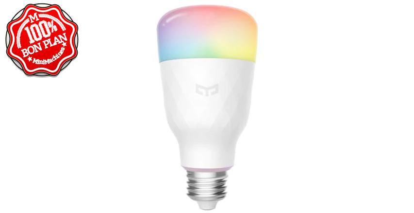 Lot de 3 ampoules RGB Yeelight 1SE 6W RGBW E27