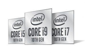 Intel lance ses nouveaux processeur Comet Lake-H