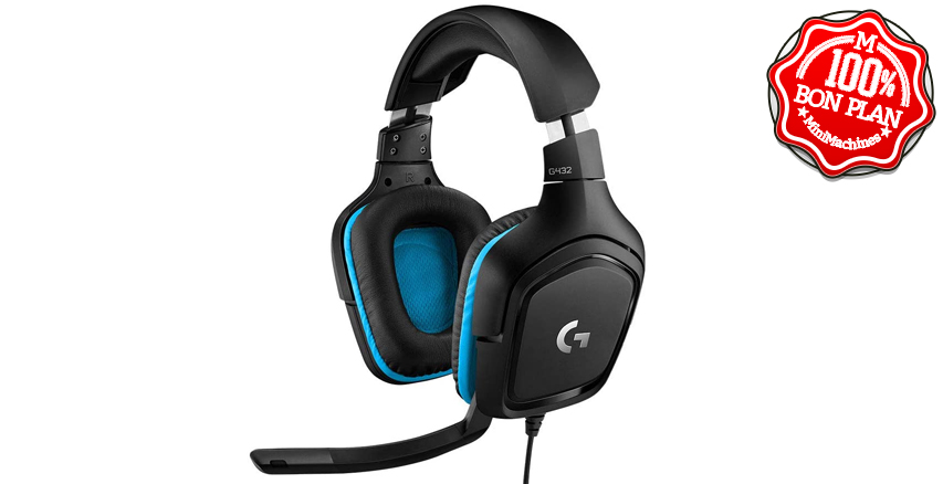 Casque gamer Logitech G432 7.1 DTS