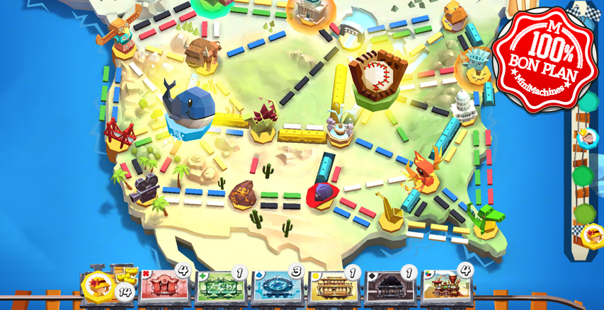 Jeu PC et Android : Ticket to Ride : First Journey