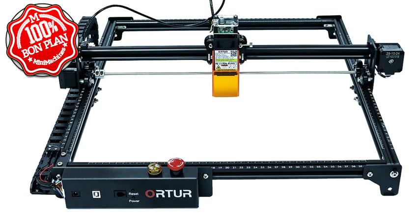 Graveuse Laser Ortur Laser Master 2 Pro