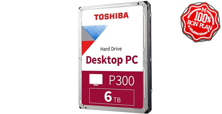 Disque dur Toshiba P300 6To