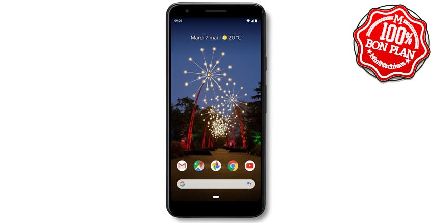 Smartphone Google Pixel 3A  4/64Go Noir