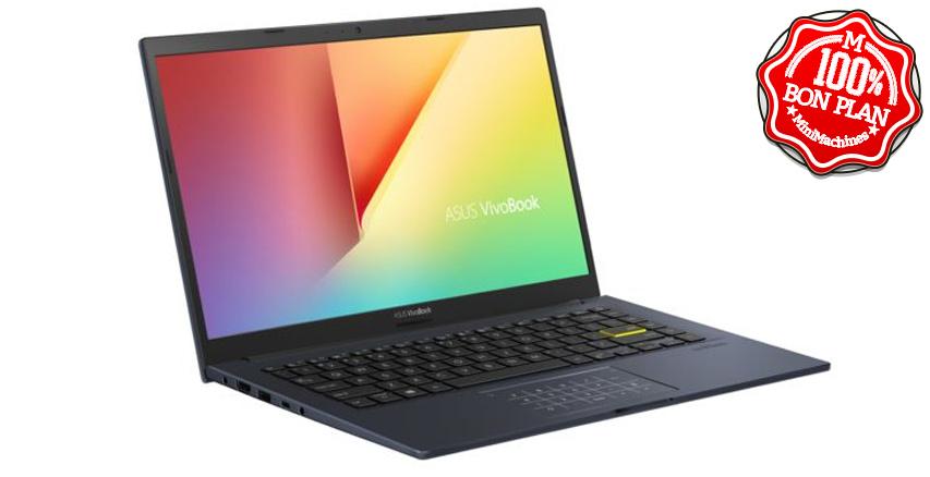 Ultraportable Asus VivoBook S14 Ryzen 5 4500U 16/512 Go