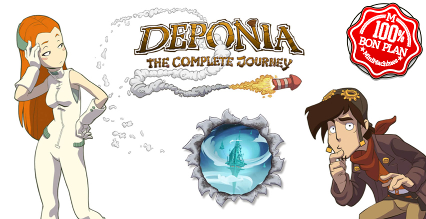 Jeu PC : Deponia: The Complete Journey