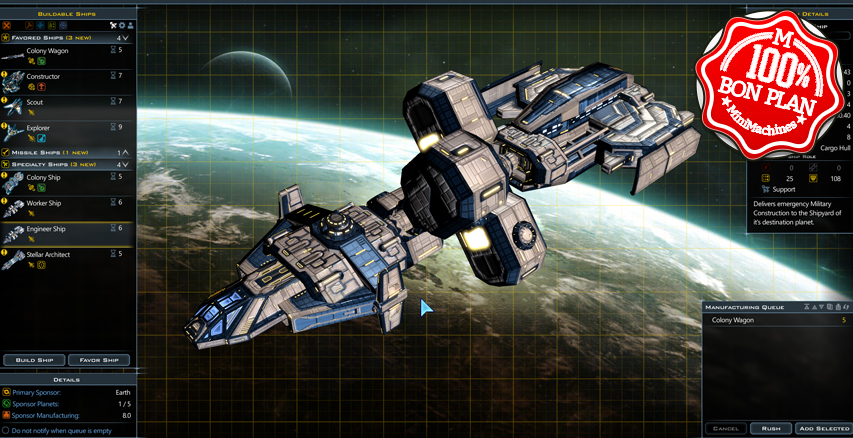 Jeu PC :  Galactic Civilizations III