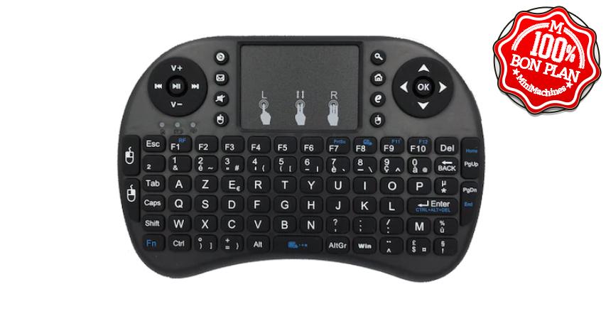 Mini clavier i8 Mini AZERTY
