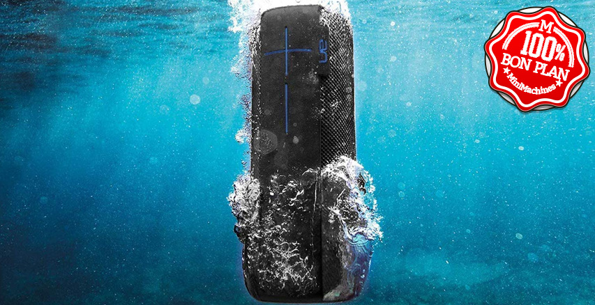 Enceinte Bluetooth Megaboom Grise