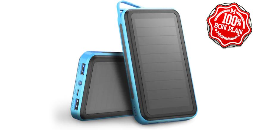Batterie externe solaire 15000 mAh Allpowers