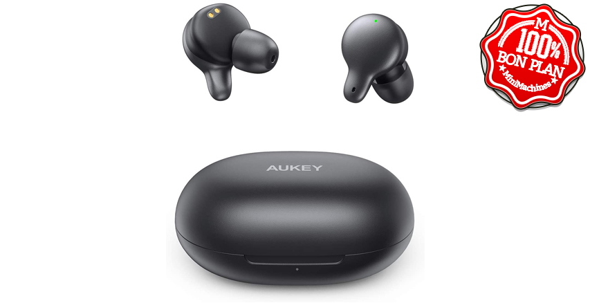 Ecouteurs Bluetooth 5.0 Aukey EP-T16S